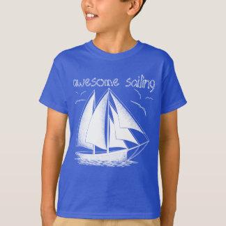 Camiseta ¡Navegación impresionante! náutico, vintage,