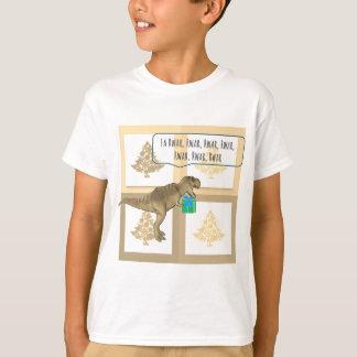 Camiseta Navidad de un Dino