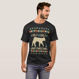 Camiseta Navidad del becerro