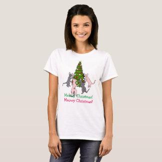 Camiseta Navidad del maullido