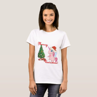 Camiseta Navidad del unicornio