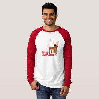 Camiseta Navidad divertida del navidad del reno de Rudolph