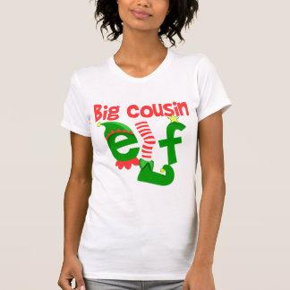 Camiseta Navidad grande del duende del primo