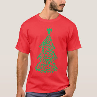 Camiseta Navidad ornamental