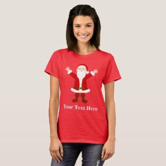 Camiseta Navidad Santa personalizado