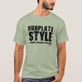 Camiseta necesaria del estilo de Dubplate de la
