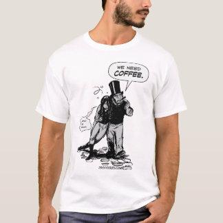 Camiseta Necesitamos el café