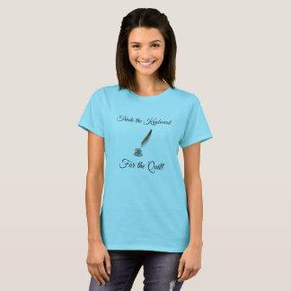 Camiseta Negocie el teclado para la canilla