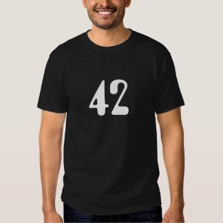 Camiseta negra 42