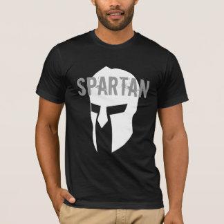 Camiseta negra americana básica espartano