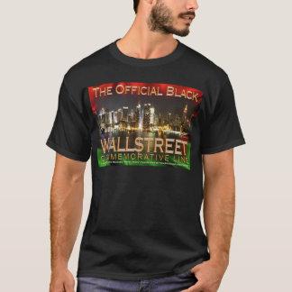 Camiseta negra básica NEGRA de WALL STREET