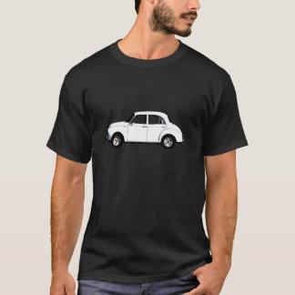 Camiseta negra blanca de Morrie