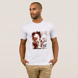 Camiseta negra de Beatles