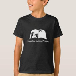 Camiseta negra de los niños FBC