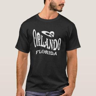 Camiseta negra de Orlando la Florida