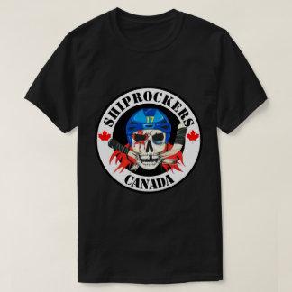 Camiseta negra de Shiprockers Canadá