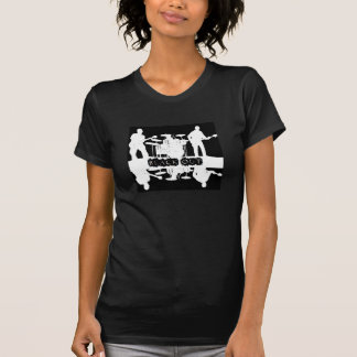 Camiseta negra del apagón de las mujeres