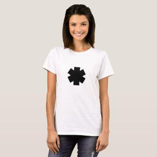 Camiseta negra del asterisco