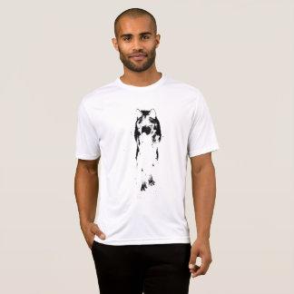 camiseta negra del lobo de los yuyass