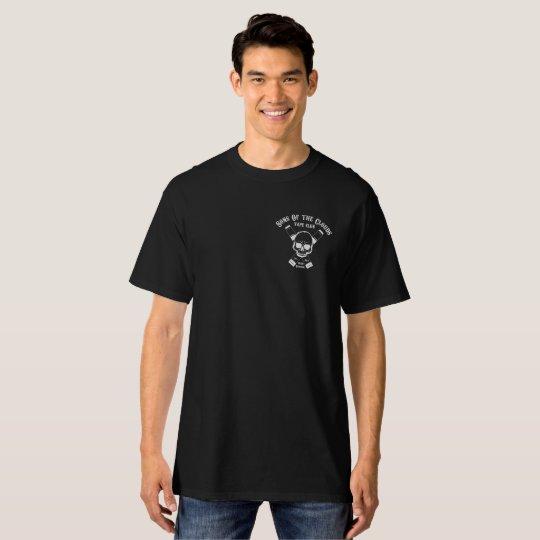 Camiseta negra extra larga Sons Of The Clouds