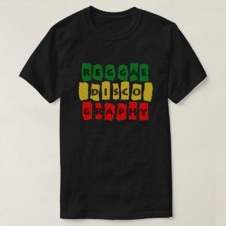 Camiseta Negro 2018 de Reggaediscography