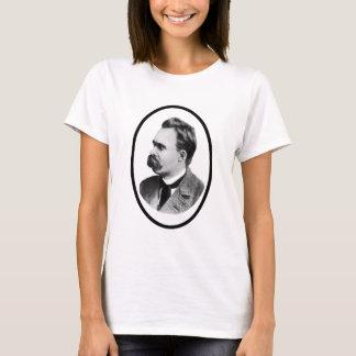 Camiseta Negro de Friedrich Nietzsche o el regalo de Zazzle