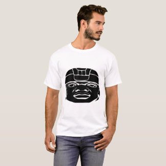 Camiseta Negro de Olmec