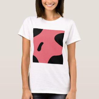 Camiseta Negro rosado de los elementos