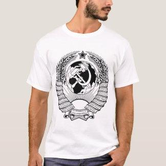 Camiseta Negro y blanco del escudo de armas de Unión