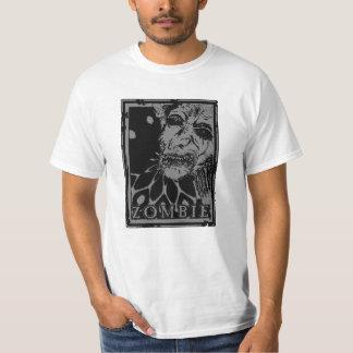 Camiseta Negro y gris del ZOMBI