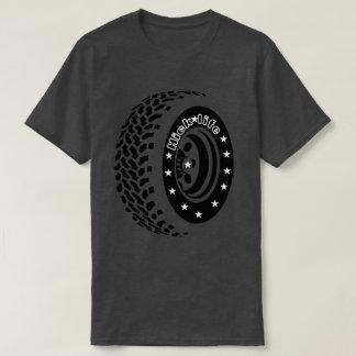 Camiseta Neumáticos grandes de la vida del cateto