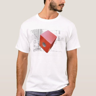 Camiseta New York City - cubo rojo de Isamu Noguchi