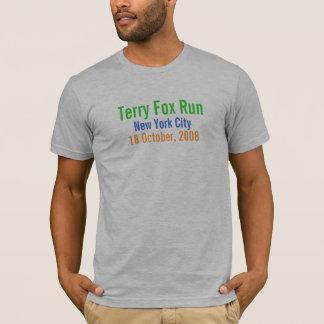 Camiseta New York City, funcionamiento del Fox de Terry, el