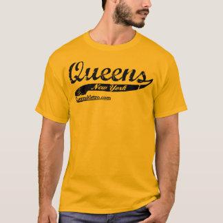 Camiseta - New York City NY - letras negras criadas Queens
