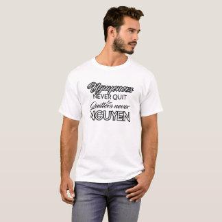 Camiseta Nguyeners nunca abandonado