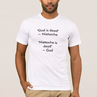 Camiseta Nietzsche es (1) muerto