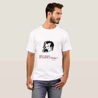 Camiseta Nietzsche y música