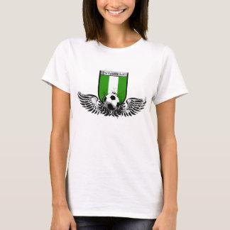 Camiseta Nigeria se fue volando el escudo del emblema del