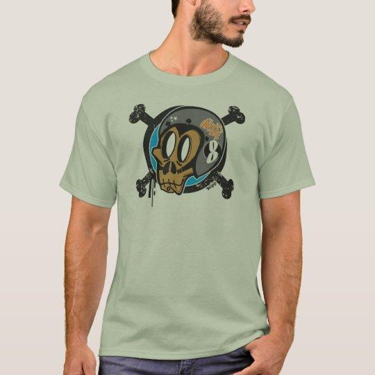 Camiseta Night  Racers Monkeys Club Logo Frontal.