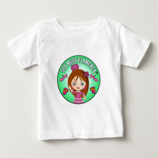 Camiseta Niñas Muy Flamencas de Soy Muuy Flamenca