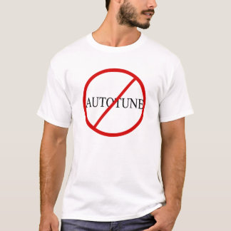 Camiseta Ningún Autotune