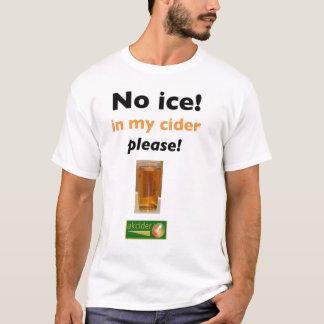 Camiseta ningún hielo