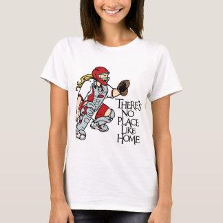 Camiseta Ningún lugar tiene gusto a casa, rojo