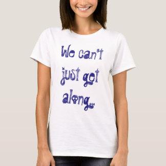 Camiseta Ningún Sr. Trump, no podemos apenas conseguir