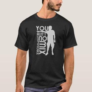 Camiseta Ninguna mezcla de la crepe