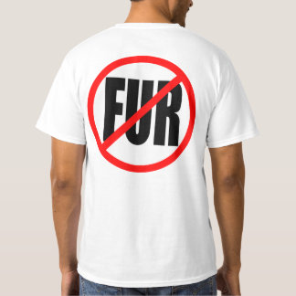 "Camiseta ""NINGUNA PIEL"" de doble cara"