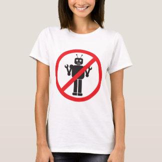 Camiseta Ninguna ropa de los robots