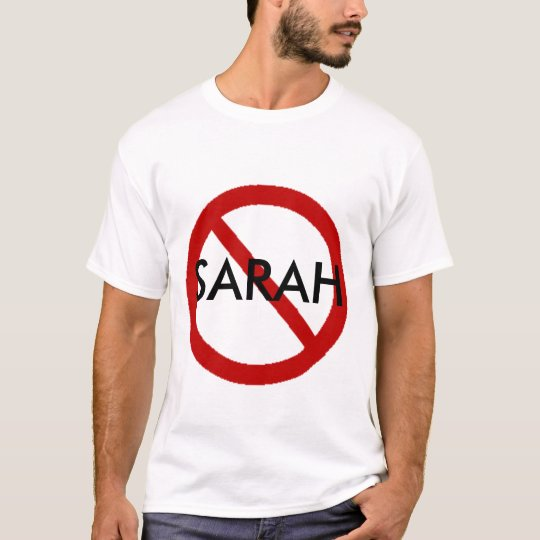 Camiseta Ninguna Sarah