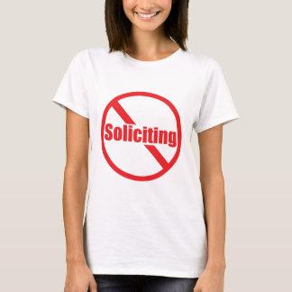Camiseta Ninguna solicitación