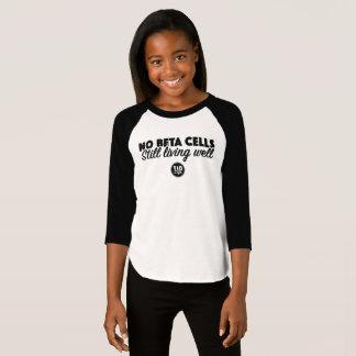 Camiseta Ningunas células beta (chica)